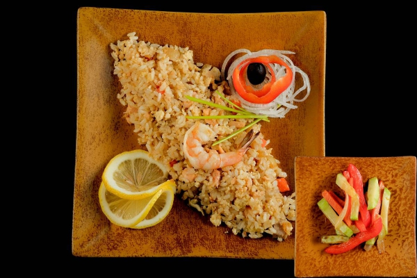Рис техан с овощами