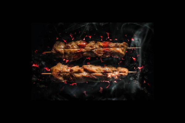 Якитори из куриного филе