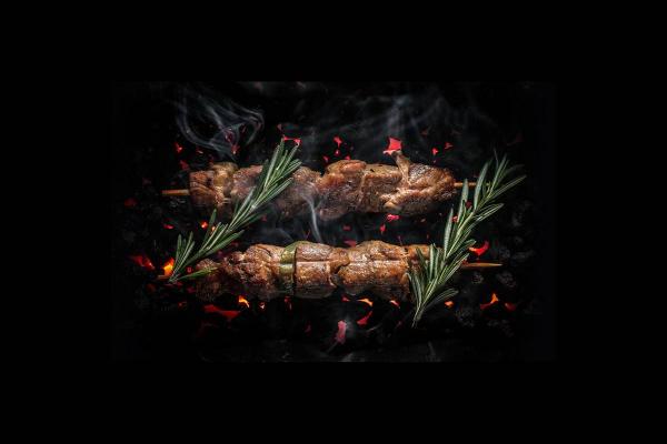 Якитори из свинины